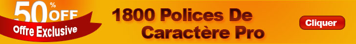 1800 polices �criture